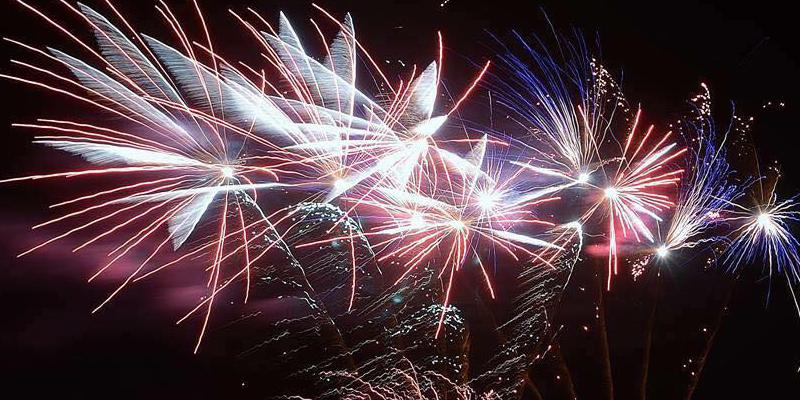 Alnwick fireworks display