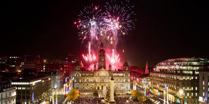 Glasgow Christmas Lights Switch On