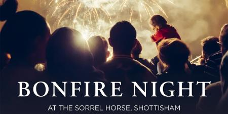 Bonfire Night @ The Sorrel Horse, Shottisham