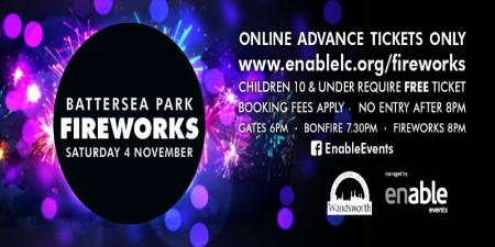 Battersea Park Fireworks Display 2017