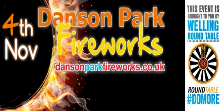 Danson Park Fireworks Display 2017