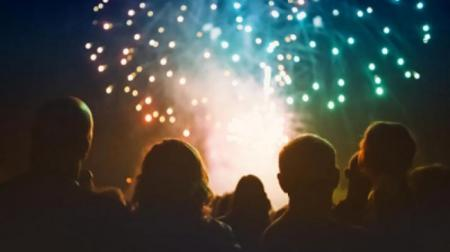 fireworks and live music at Barking Park