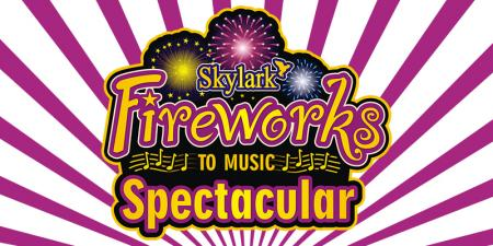 Skylark and Huntingdon round table fireoworks display