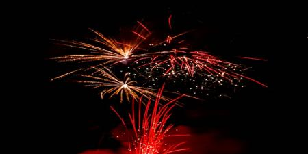Mulben fireworks display and bonfire