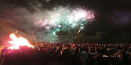 newark rugby club kelham road fireworks